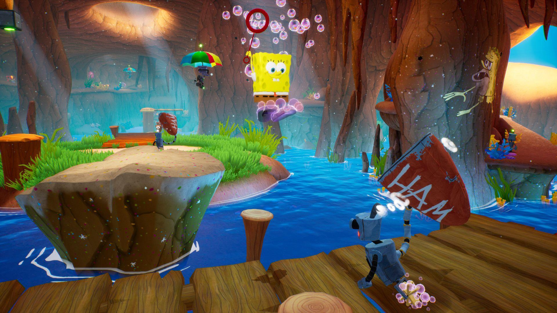 لعبة spongebob squarepants battle for bikini bottom pc