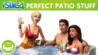The Sims 4 Tjekket terrasse Stuff (Perfect Patio Stuff)
