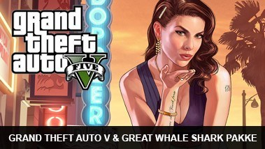 Grand Theft Auto V (GTA 5) & Whale Shark Pakke
