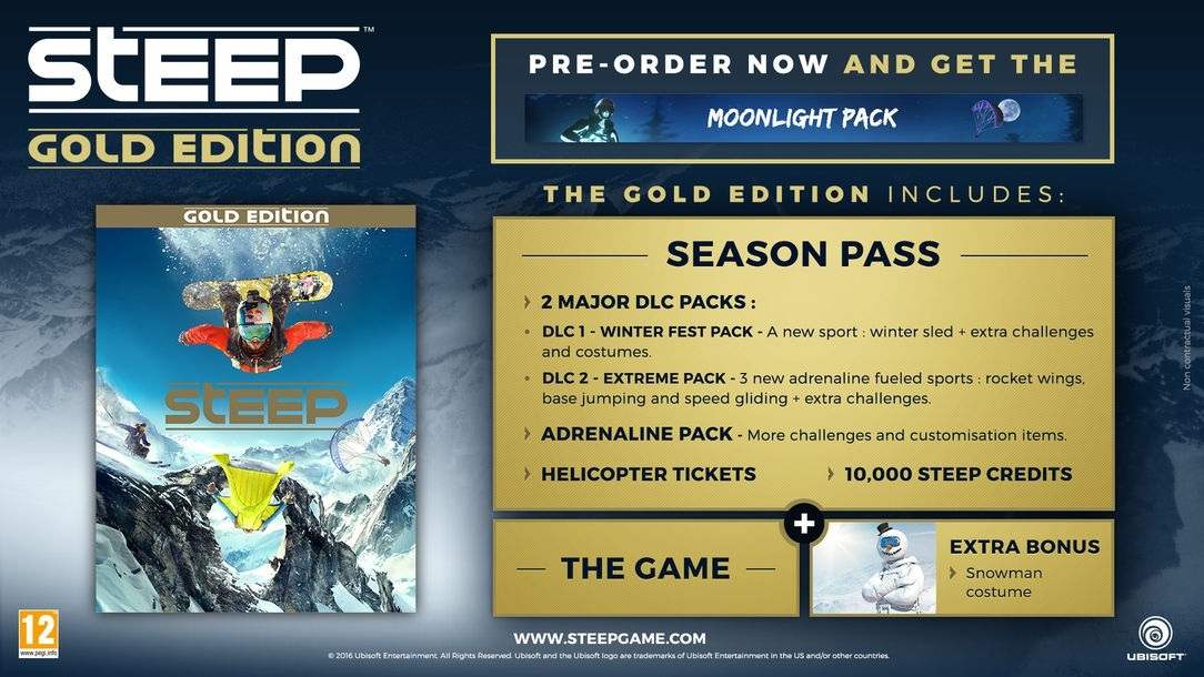 BUY Steep Gold Edition Uplay CD KEY
