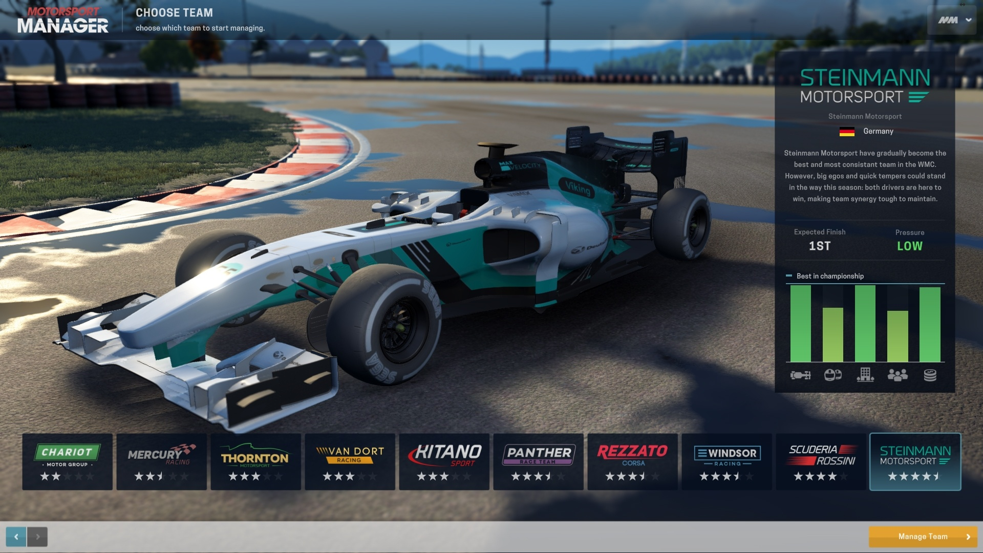 BUY Motorsport Manager Steam CD KEY