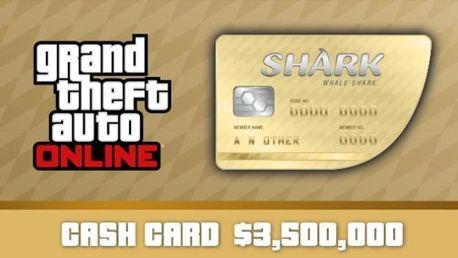 Grand Theft Auto Online: Whale Shark Cash Card