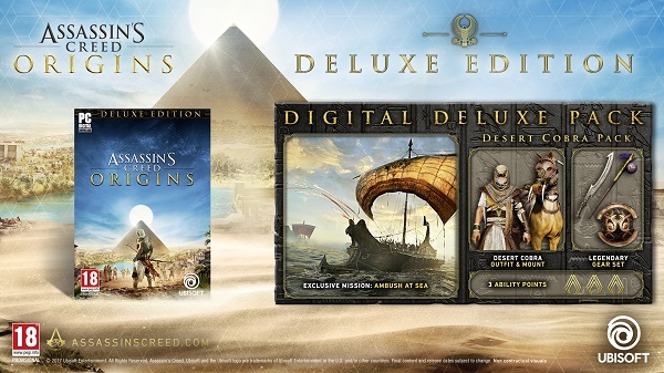 Assassin's Creed Origins Uplay CD Key kode digital
