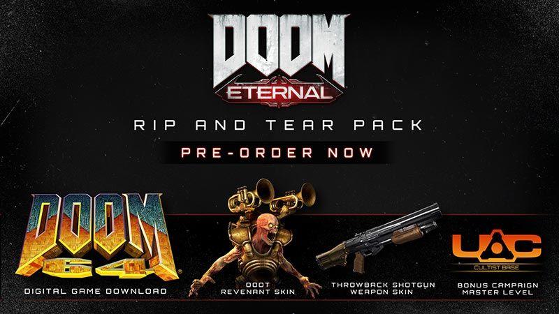 Doom eternal preorder bonus