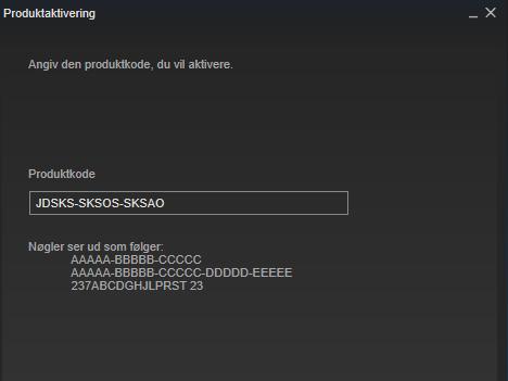 Hvordan indløser jeg mit spil på Steam?